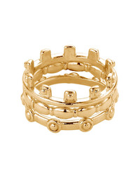 ChloBo Ariella Aura Ring Stack - Gold