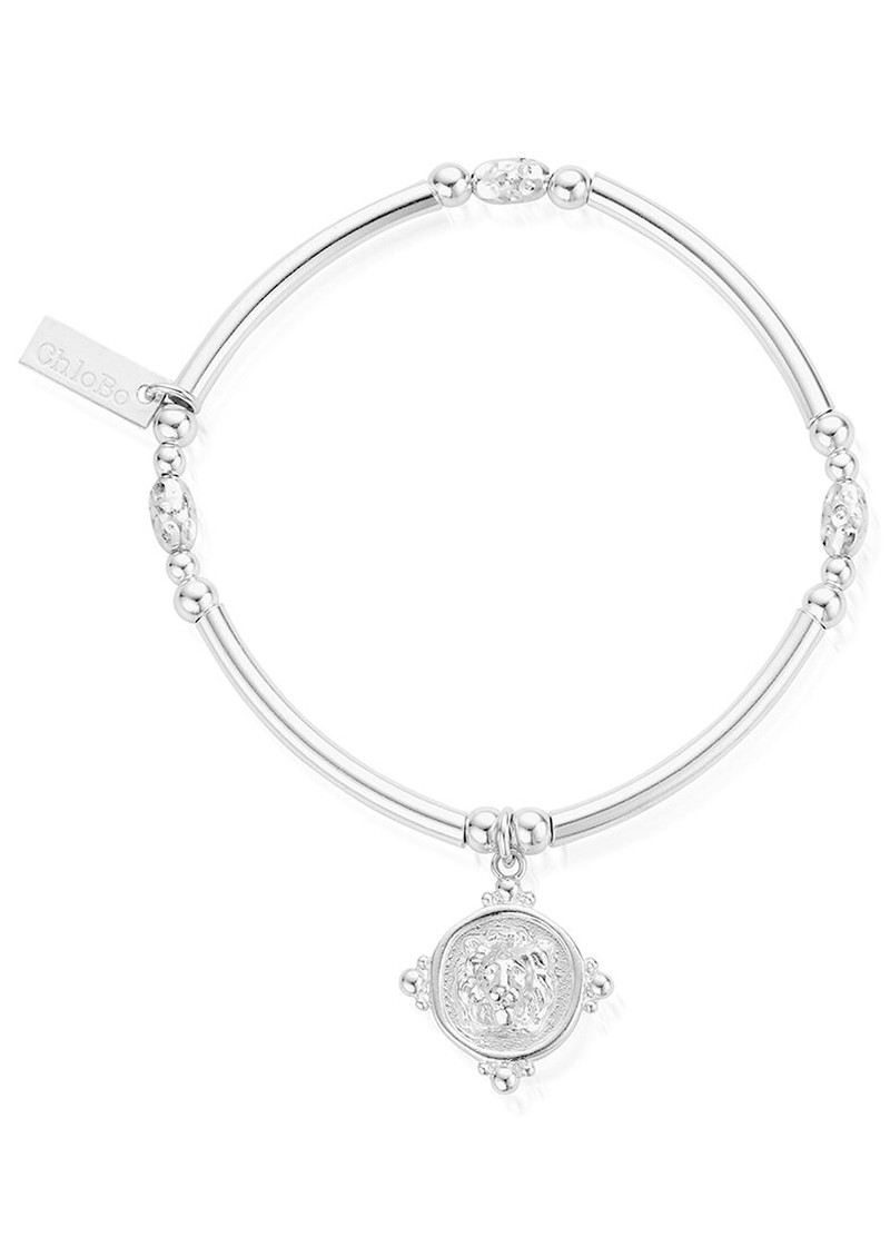 ChloBo Ariella Lioness Signet Bracelet - Silver main image