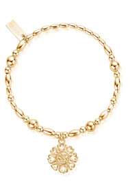ChloBo Ariella Bright Love Bracelet - Gold