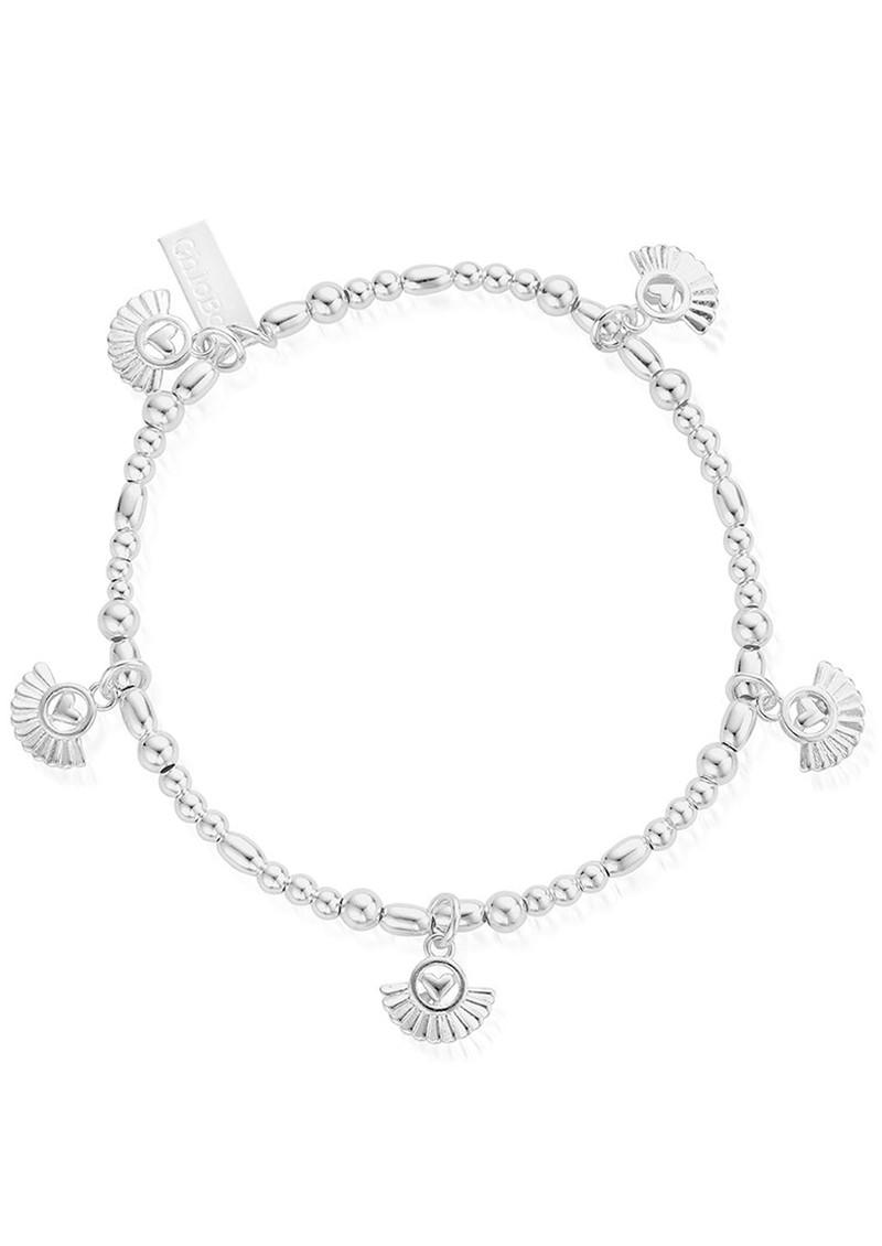 ChloBo Ariella Real Love Bracelet - Silver main image