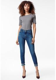 J Brand 835 Mid Rise Crop Skinny Jeans - Hewes
