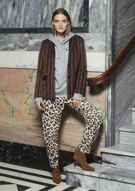 CUSTOMMADE Edea Leopard Trousers - Whisper White