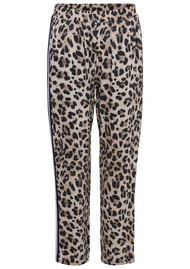 Edea Leopard Trousers - Whisper White