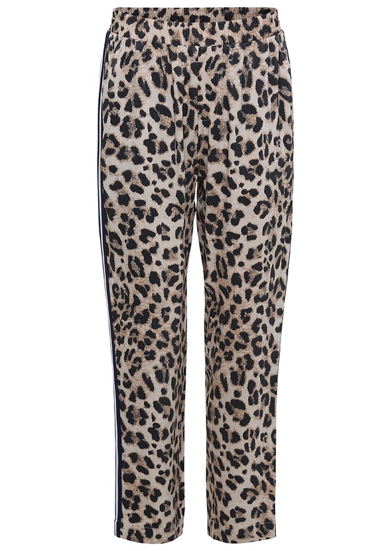 38d2f960f071 CUSTOMMADE Edea Leopard Trousers - Whisper White main image ...