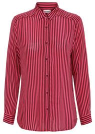 CUSTOMMADE Tilda Silk Shirt - Tawny Port