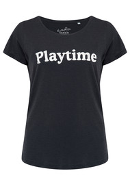 ON THE RISE Playtime Tee - Black & White