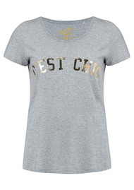ON THE RISE C'est Chic Tee - Grey