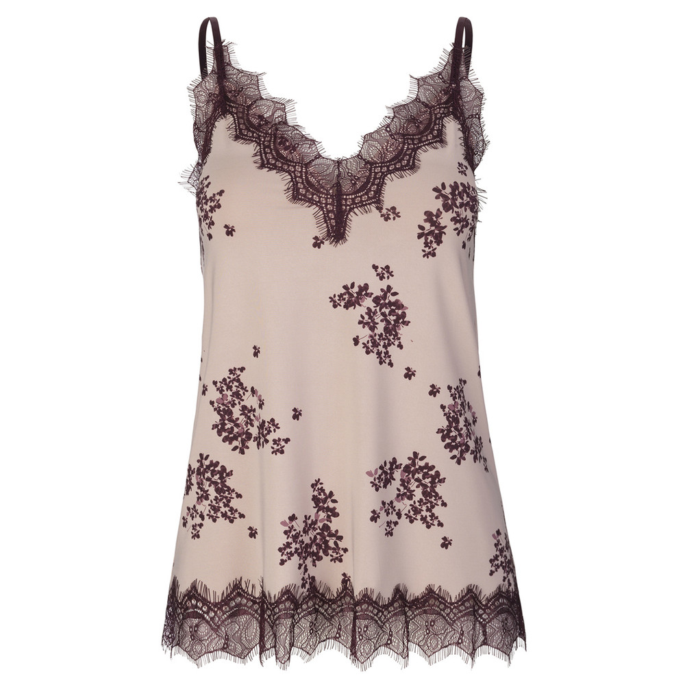 Billie Lace Cami - Vintage Flower