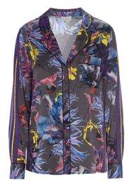 DEA KUDIBAL Elmira Exclusive Silk Shirt - Wildflower Grey