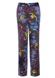 DEA KUDIBAL Riva Exclusive Silk Trousers - Wildflower Grey