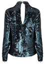 DANTE 6 Carly Sequin Top - Oak