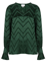 DANTE 6 Lotus Blouse - Leaf Green