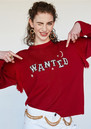 HAYLEY MENZIES Wanted Jumper - Red