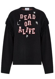 HAYLEY MENZIES Dead or Alive Jumper - Black