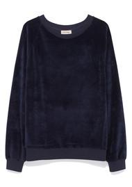 American Vintage Isacboy Sweatshirt - Navy