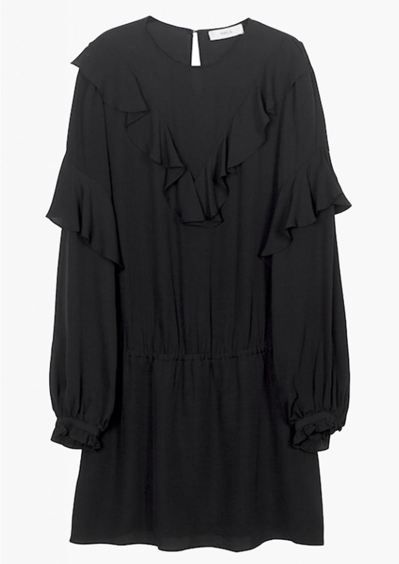 MAYLA Vivianne Silk Dress - Black main image