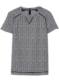 Maison Scotch Printed Woven Top - Combo Z