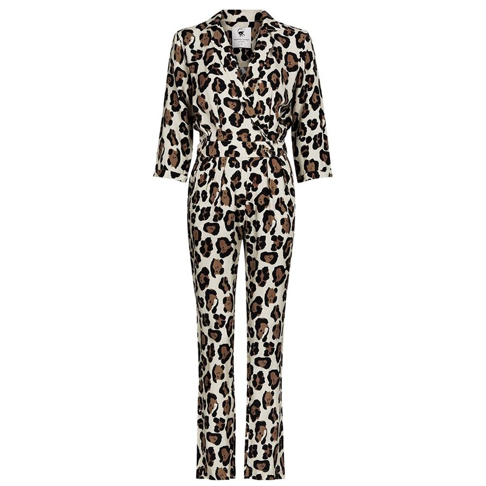 Gigi Jumpsuit - Artist Leopard