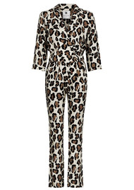 FABIENNE CHAPOT Gigi Jumpsuit - Artist Leopard