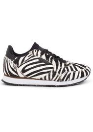 WODEN Ydun II Pony Trainers - Zebra