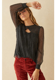 Ba&sh Dany Top - Black