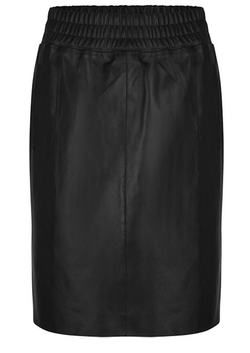 DANTE 6 Eshvi Leather Skirt - Raven  main image