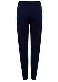 COCOA CASHMERE Rainbow Stripe Pants - Navy & Rainbow