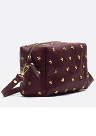 MERCULES Dixie Cross Body Bag - Burgundy