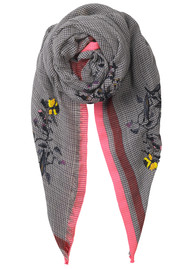 Becksondergaard Barbora Wool Scarf - Neon Pink