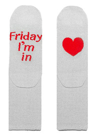 UNIVERSE OF US Sparkle Socks - Friday I'm In Love
