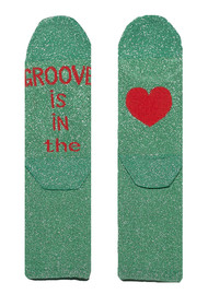UNIVERSE OF US Sparkle Socks - Groove is in the Love