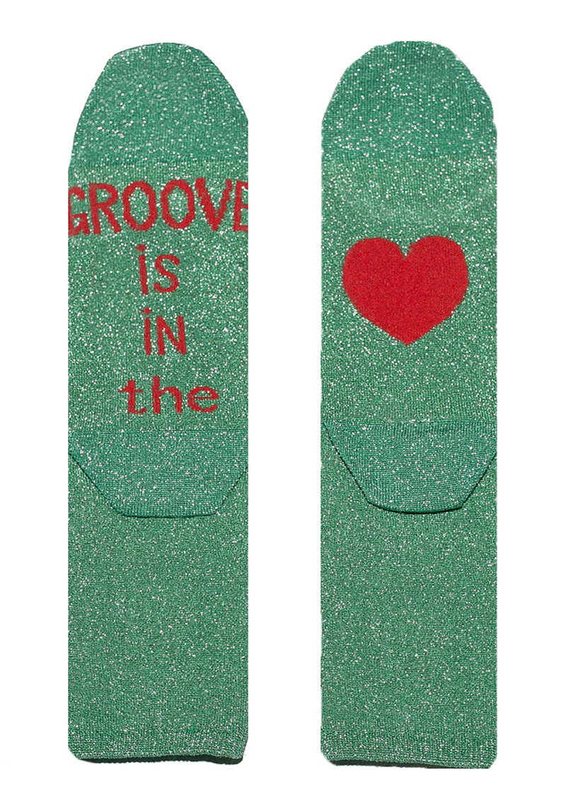 UNIVERSE OF US Sparkle Socks - Groove is in the Love main image