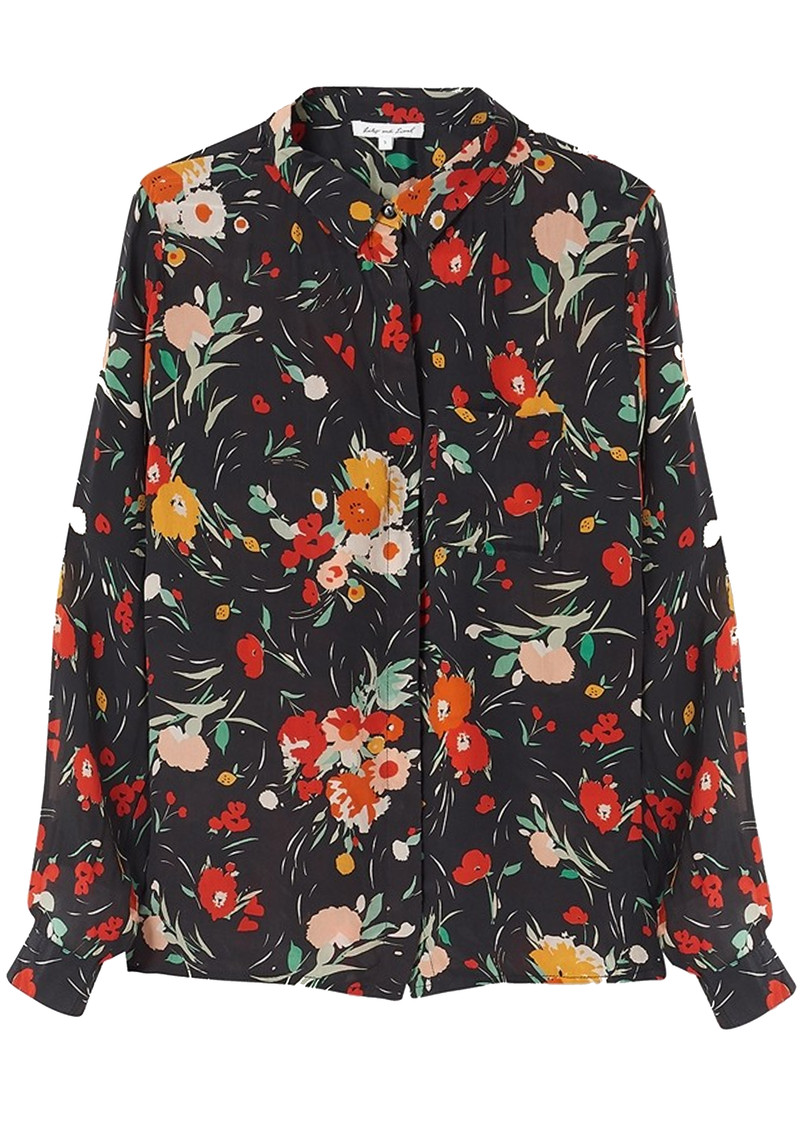 Lily and Lionel Daria Shirt - 30s Floral main image