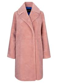 STINE GOYA Concord Faux Fur Coat - Pink