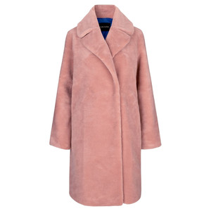 Concord Faux Fur Coat - Pink
