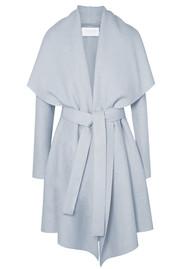 HARRIS WHARF Blanket Belted Coat - Ice Grey