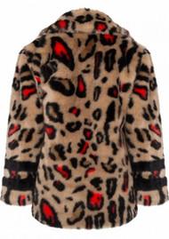 DANTE 6 Fabyh Faux Fur Coat - Latte
