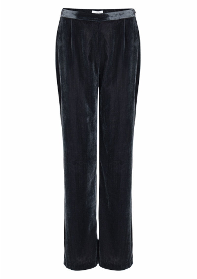DANTE 6 Seduce Velvet Trousers - Carbon main image