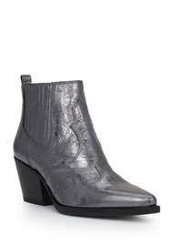 Sam Edelman Winona Distressed Boot - Metallic
