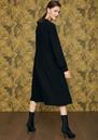 IDANO Courgette Snake Embellished Dress - Black