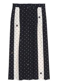 IDANO Abricot Polka & Bug printed Skirt - Black