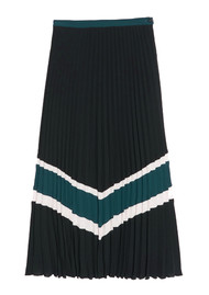 IDANO Quietsche Pleated Skirt - Black