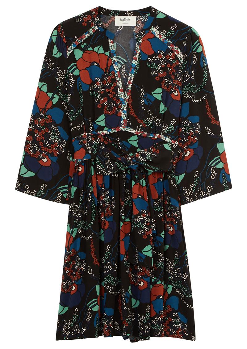 Ba&sh Agathe Dress - Black main image