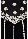 Oona Velvet Embroidered Blouse - Black additional image