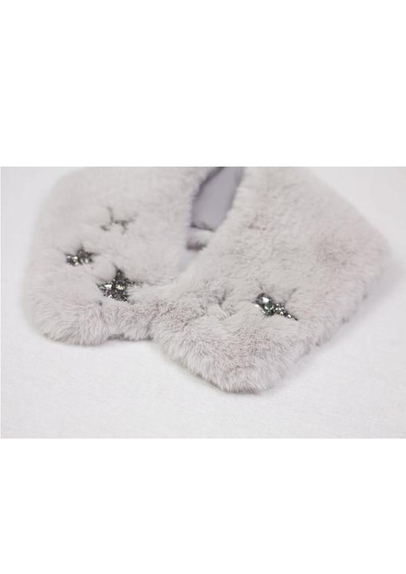 NOOKI Star Fur Collar- Oyster main image