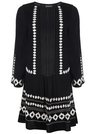 PK BERRY Cleo Embroidered Dress - Black