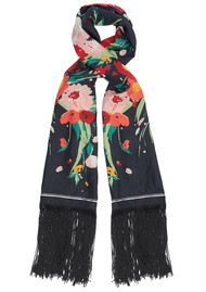 Lily and Lionel Houston Silk Scarf - Black
