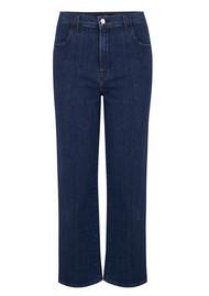 J Brand Joan High Rise Wide Leg Crop Jeans - Match