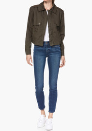 Paige Denim Aubree Jacket - Forest Night