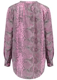 Mercy Delta Exclusive Stowe Silk Blouse - Python Ballet